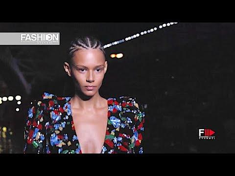 SAINT LAURENT Spring Summer 2019 Paris - Fashion Channel