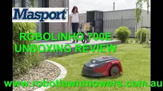 Masport Robolinho 700E Unboxing and First Review