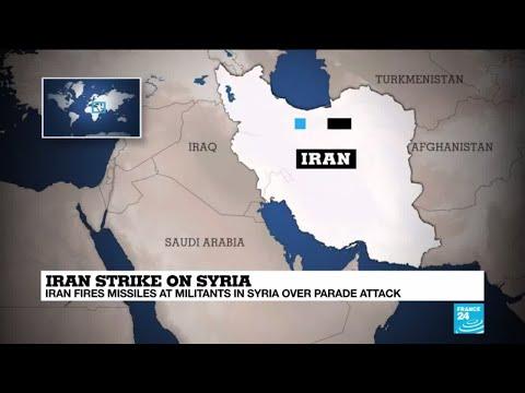Iran strike on Syria: A move by Iran