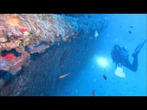 Diving Gozo - the wrecks Karwela, Comino Land & Xlendi, Xatt l-Ahmar,Gozo,Malta