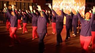 Video : China : Christmas tree lighting, BeiJing 北京