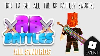 HOW TO GET ALL THE RB BATTLES SWORDS in 8 MINUTES! | Roblox
