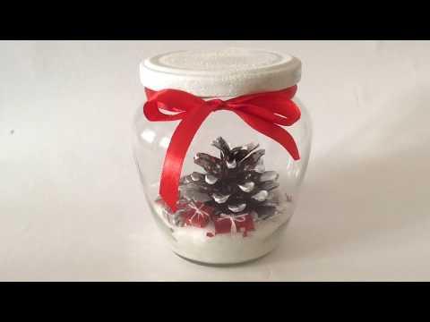 Vánoční DIY. Stromeček a dárky. Vánoční Dekorace.