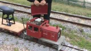 WALES WEST MINIATURE RR STEAMUP