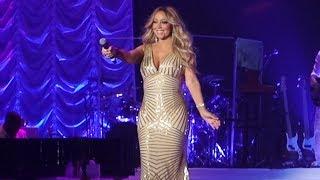Mariah Carey - Que Je T'aime Live (hommage à Johnny Hallyday) @ AccorHotels Arena, Paris, 2017