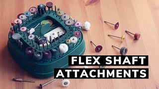 Pendant Motor ATTACHMENTS! My Favourite Accessories For Flex Shaft And Rotary Tool.