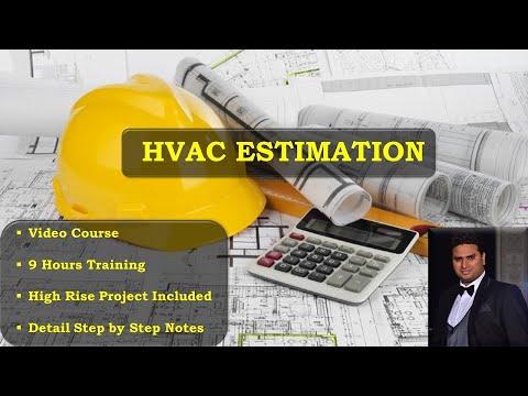 9+ HOURS HVAC ESTIMATION VIDEO COURSE - YouTube