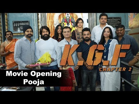 KGF Chapter 2 Movie Opening Event
