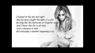 Ashley Tisdale - You're Always Here (Lyrics)