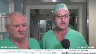Entrevista a Gallucci-Antonini. Cáncer de próstata - De la enfermedad a la rehabilitación sexual