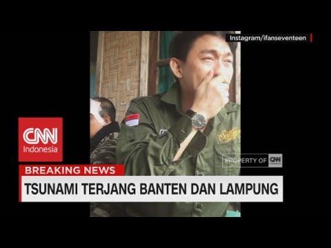 Sambil Menangis, Ifan Cerita Kondisi Anggota Seventeen | Tsunami Terjang Banten & Lampung