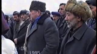 Fəzi kişinin Qulam Qədirovun məzarı başında çıxışı (20.01.1995)