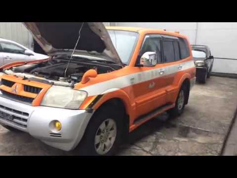 В разбор Mitsubishi Pajero V75W 6G74