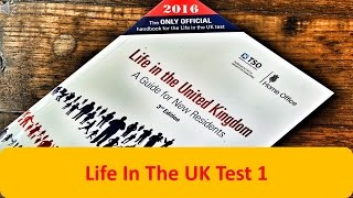 Life In The UK Test 1