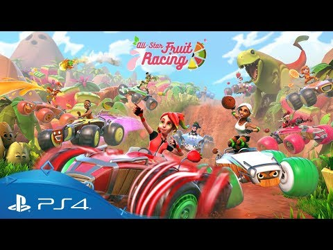 Trailer de All-Star Fruit Racing