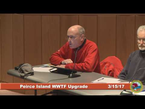 Peirce Island Wastewater Treatment Facility Upgrade 3.15.17
