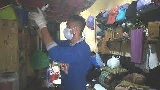 Satgas Kamtib Lapas Kotabaru Geledah Blok Hunian Warga Binaan