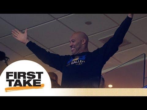 Is LaVar Ball ruining Lonzo Ball's rookie NBA season? | First Take | ESPN