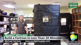 Build a Sun Hut Fortress in 20 Minutes