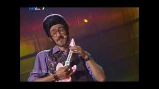Rodolfo Chikilicuatre - Baila el Chiki-chiki (Eurovision 2008 - Spain) Broadcasting by ERT