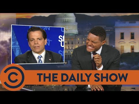The Mooch Deletes His Tweets - The Daily Show | Comedy Central