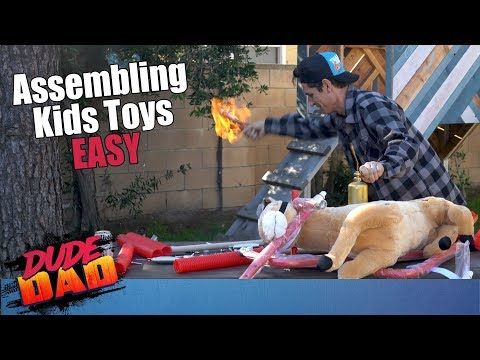 How to Assemble ANY kid's Toy | Dude Dad