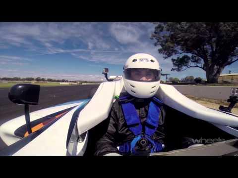 Formula 4 First Drive   Wheels