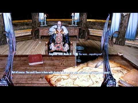 Skyrim Assassinating the Emperor