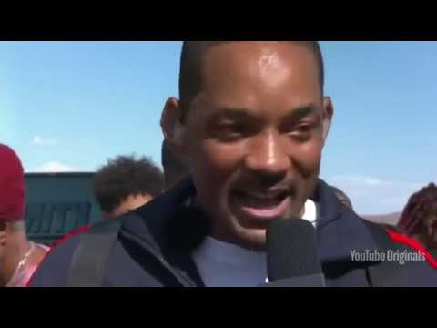 Actor and musician Will Smith marked his 50th birthday by leaping out of a helicopter near the Grand Canyon. (Sept. 26)