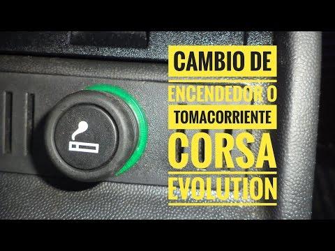 Cambio de Encendedor o Tomacorriente Corsa Evolution