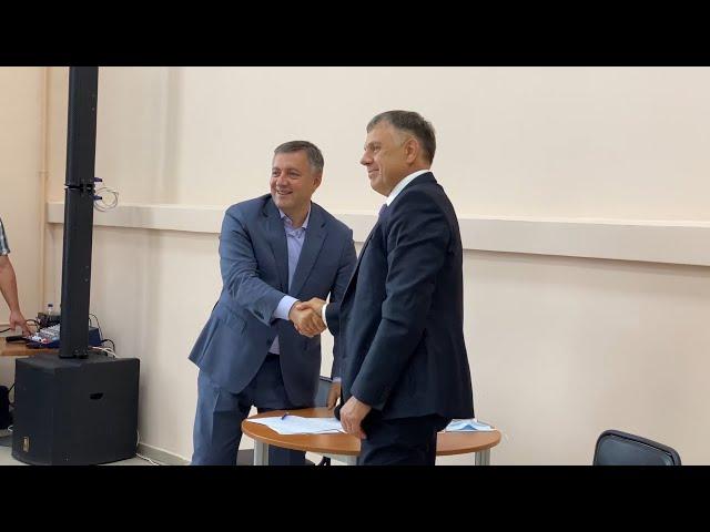 Ангарск сегодня посетил глава региона Игорь Кобзев