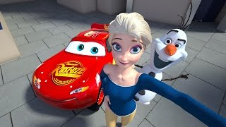 WHAT HAPPENED to OLAF? FROZEN CASTLE Princess Elsa Sings Let It Go - Ice Monster Revealed  Episode 8