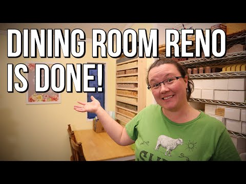 The Dining Room is Done! - Budget Mobile Home Remodel - #39