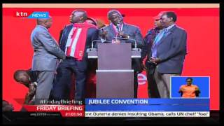 Jubilee party holds first delegates convention and picks Uhuru Kenyatta as its flag bearer
