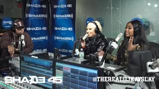 Dj Kayslay Interviews Lyrica Anderson on Shade45