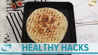 How To Make A Healthy Grilled Pizza - Dr. Ozs Healthy Hacks