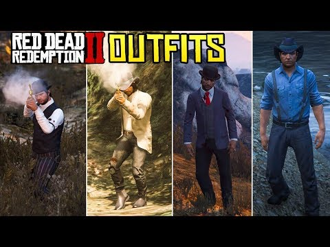 GTA Online FASHION FRIDAY! (Red Dead Redemption 2 Themed + Dutch's Gang)