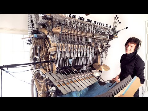 La valse d'Amelie - Vibraphone Test Melody - Marble Machine X 105