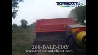 Abbriata M60 Super Square Baler - Mini Baler for Compact Tractors