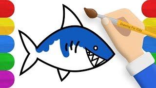 How To Draw Sharks For Kids 免费在线视频最佳电影电视节目 Viveos Net