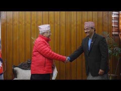 राप्रपाले हिन्दु राष्ट्र कायम गर्न माग गर्दै प्रधानमन्त्रीलाई ज्ञापन पत्र बुझायो