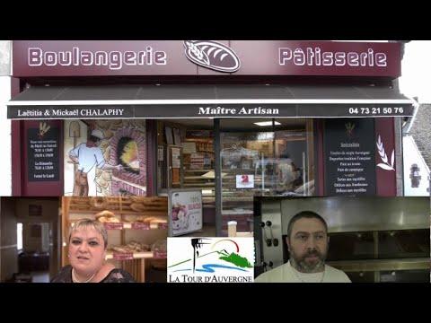 Boulangerie Michaël - Laetitia Chalaphy à La Tour d'Auvergne 63680