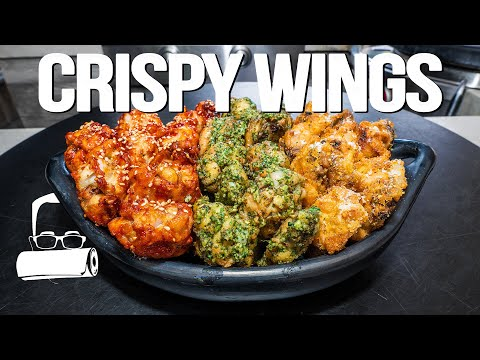 CRISPY CHICKEN WINGS FROM THE OVEN