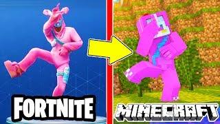 Fortnite skins in minecraft