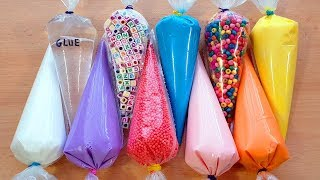 Making Slime Piping Bags - Crunchy Slime #3