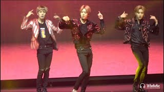 181010 MONSTA X World Tour in Osaka Livin it Up 형원 HYUNGWON Focus
