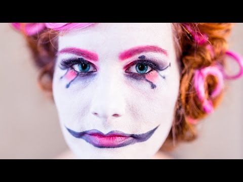 beauty Harlekin/sweet Harlequin - einfaches Halloween MakeUp