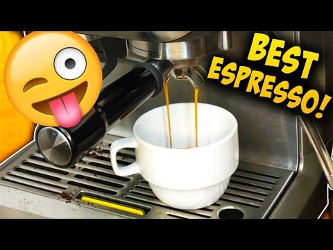 ONE TIP FOR PERFECT ESPRESSO - Breville Barista Express