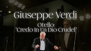 Silviano Frontalini, Roncole Verdi Orchestra - Giuseppe Verdi - Credo in un Dio Crudel