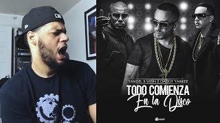 Wisin Y Yandel Daddy Yankee  Todo Comienza En La Disco Official Video  Reaccion
